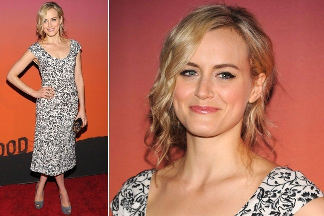 "'Orange Is the New Black' Star Taylor Schilling: ""I'm Wearing Less Orange!"""