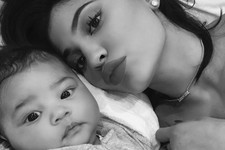 Look At That Little Pout! Kylie Jenner Debuts First Selfie With Her 7-Week-Old Daughter, Stormi