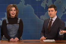 Vanessa Bayer Does an Incredible Impression of Rachel from 'Friends'