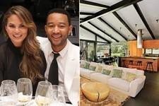 Tour John Legend and Chrissy Teigen's Hollywood Hills Home