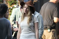 Amber Heard's Cool Boho Look