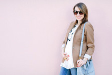 Style Within Reach Blogger Caitlin Kruse's Pregnancy Style Secrets