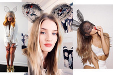 Celebrities Wearing Bunny Ears