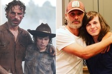 Proof Rick Loves Carl in Real Life Too