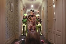 David S. Pumpkins Has Infiltrated Your Favorite Horror Movies!