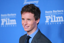 Eddie Redmayne Suits Up in Santa Barbara