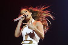 Jennifer Lopez Rocks Out in Singapore