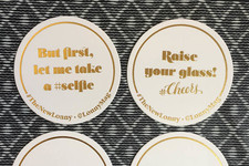 Idea to Steal: Custom Coasters That Get the Party Started