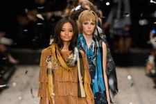How Brits Do Boho: Burberry Fall 2015