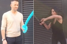 Psylocke and Deadpool Had a Katana Battle, Guys