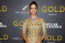 Look of the Day: Camila Alves' Glam Gold