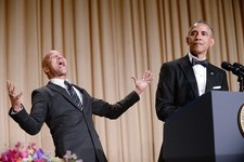 Pictures from the White House Correspondents' Dinner