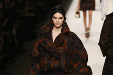 Kendall Jenner Works the Runway in Milan