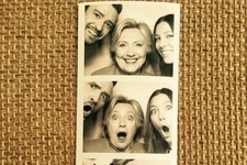 Hillary Clinton, Justin Timberlake, and Jessica Biel Were the Biggest Hams at Their Hollywood Fundraiser