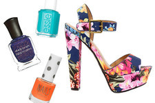 Nail Polish and Sandal Combos Perfect for Summer