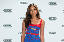 Look of the Day: Naomie Harris' Multicolored Frock