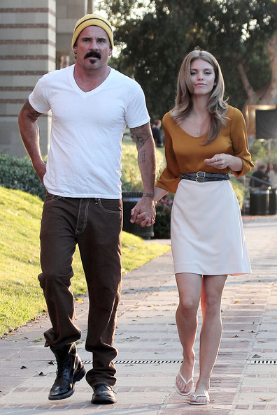 Annalynne McCord and Dominic Purcell in Westwood  Dominic Purcell Dominic Purcell And Annalynne Mccord