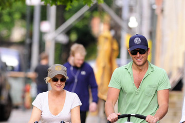 Will Arnett Amy Poehler Amy Poehler and Family Out for the Day