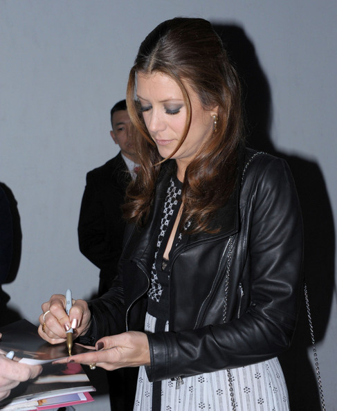 Kate Walsh At A Pre-Oscar Party