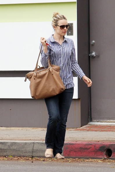 Actress Rachel McAdams gets into a minor fender bender in Los Angeles while on her way to a doctor's appointment in Los Angeles.