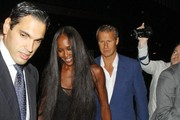 Naomi Campbell and Vladislav Doronin seen attending the Fashion for Relief Charity Dinner at Downtown Mayfair, London.