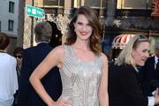 Heather Doerksen at the Los Angeles premiere of 'Pacific Rim' held at the Dolby Theatre in Hollywood, Los Angeles.
