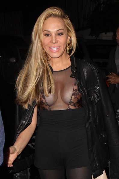 Adrienne Maloof Leaves Chateau Marmont