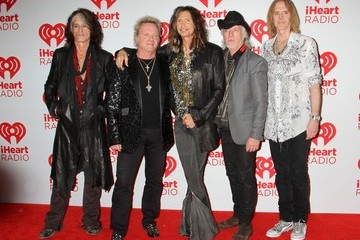 Aerosmith Celebs at the iHeartRadio Music Festival