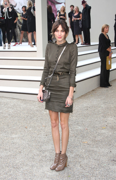Guests at the Burberry Prorsum S/S 2011 Show
