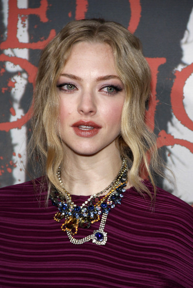 "Amanda Seyfried attends the Los Angeles premiere of her new film ""Red Riding Hood"", held at the Grauman's Chinese Theater, Los Angeles."