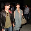 Austin Chick Stars Arrive at the Lakers Game in LA