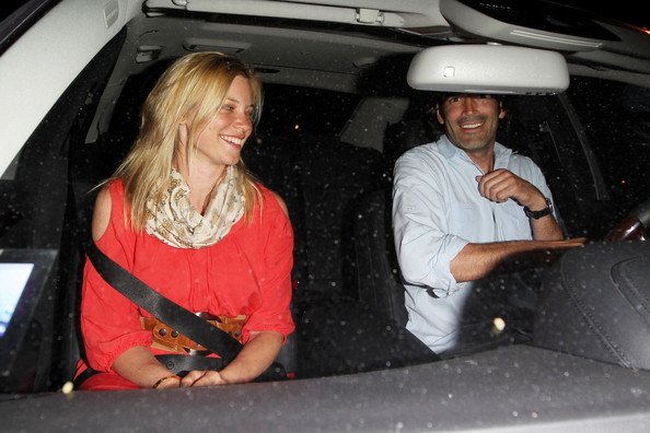 Amy Smart - Amy Smart and Carter Oosterhouse Leave Il Sole