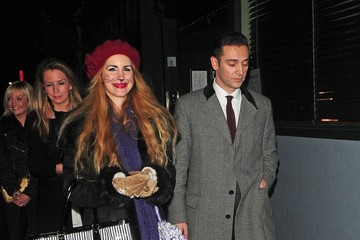 Amy Winehouse Reg Traviss Out in London