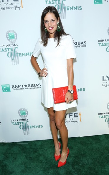 Ana Ivanovic - Celebs at the BNP Paribas Taste of Tennis Event