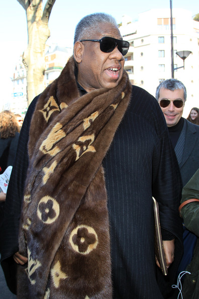 Andre Leon Talley Photos Photos Celine Fashion Show In