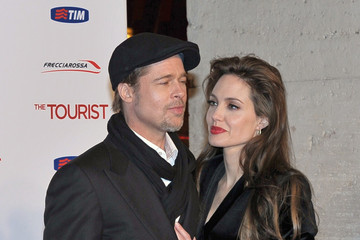 Angelina Jolie Premiere of 'The Tourist' in Rome