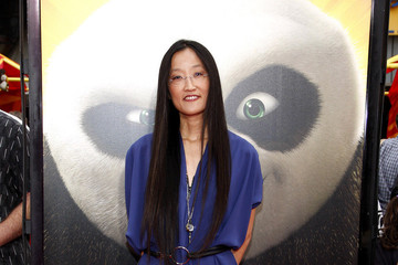 """Jennifer Yuh Nelson Angelina Jolie at the LA Premiere of """"Kung Fu Panda 2"""" in Los Angeles"""