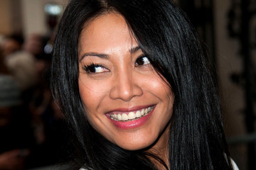 Anggun Celebs at the Jean-Paul Gaultier Show
