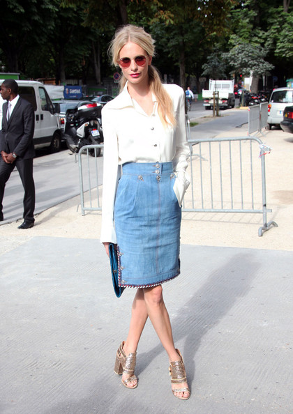 Anna+Girardot+seen+arriving+Chanel+Fashion+ v4xzGD05Ysl Vote: Which Celeb was Best Dressed Front Row at the Chanel Fall 2012 Couture Show?