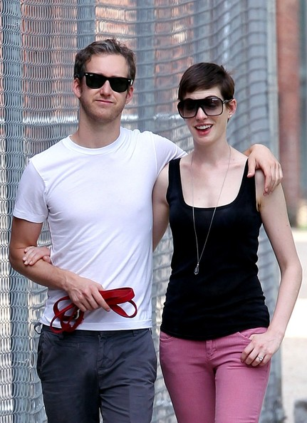 Saturday Anne Hathaway and Adam Shulman The Week In Pictures