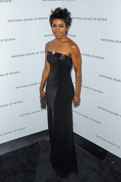 Angela Bassett walks the red carpet at the National Board of Review Awards at Cipriani 42nd Street in New York City.