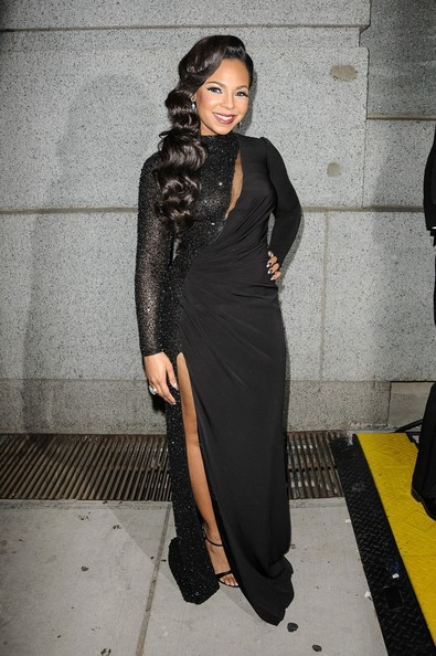 Ashanti - Ashanti attending the Angel Ball 2012 hosted by Gabrielle's Angel Foundation at Cipriani Wall Street in New York City