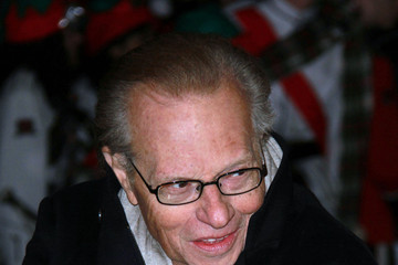 Larry King The 2010 Christmas Parade in Hollywood