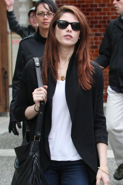 "Ashley Greene Ashley Greene spends time with her on-screen 'Twilight' boyfriend, Jackson Rathbone, while out and about in Vancouver. The two ""Twilight Saga: Breaking Dawn"" co-stars grabbed lunch together at Cactus Club and even walked arm-in-arm together. Rathbone is also a member of the music group, 100 Monkeys."