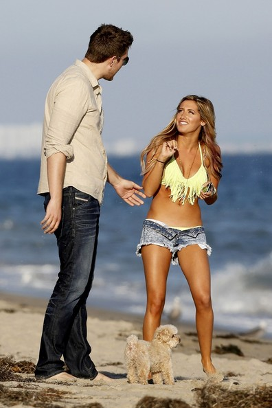 Ashley Tisdale And Scott Speer 2013