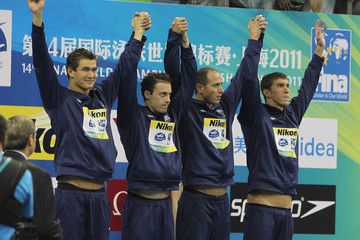 Nathan Adrian Australian Team Wins Gold in the Men's Freestyle
