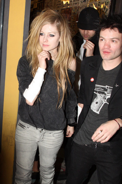 deryck whibley and avril. and Deryck Whibley - Avril