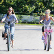 She rides bikes with Haylie Duff.