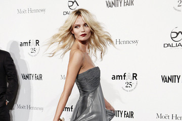 Natasha Poly Celebs at the amfAR Milano Event