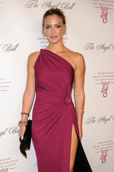 Bar Refaeli - Ashanti attending the Angel Ball 2012 hosted by Gabrielle's Angel Foundation at Cipriani Wall Street in New York City